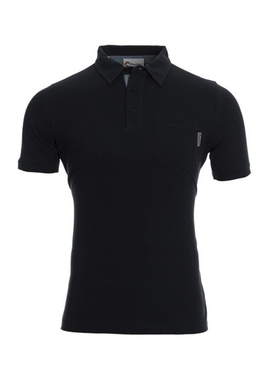 Panthzer  Tulita Erkek Polo Yaka T-Shirt Siyah